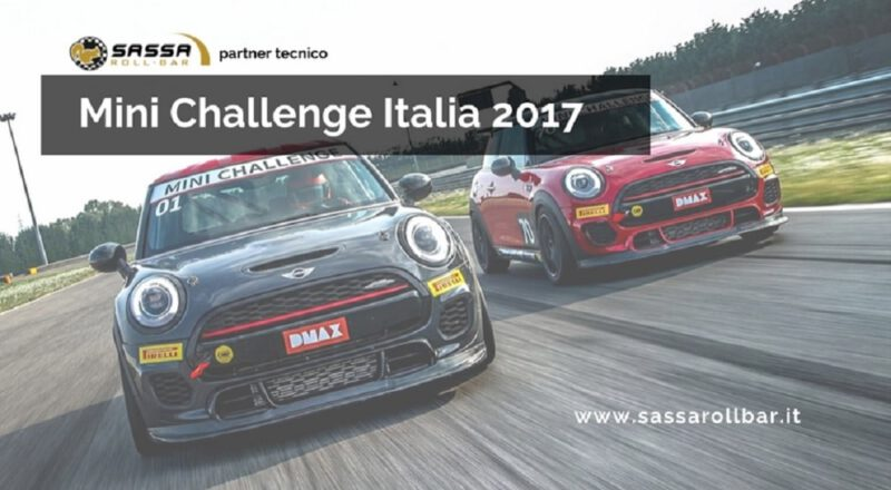 Sassa Roll-bar is the technical sponsor of the Mini Challenge Italy 2017