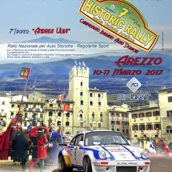 """Italian Championship Rally Cars 2017. Start with the """"Rally delle Vallate Aretine"""""""