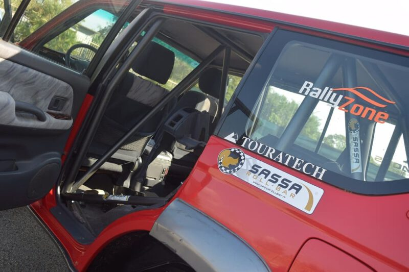 Sassa Roll-bar at 4×4 Fest in Carrara: Range Rover with our roll-bar